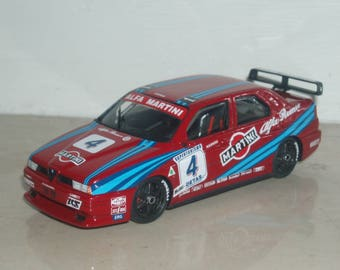 Alfa Romeo 155 GTA Martini Racing Superturismo 1992 Larini/Nannini REMEMBER kit 1:43