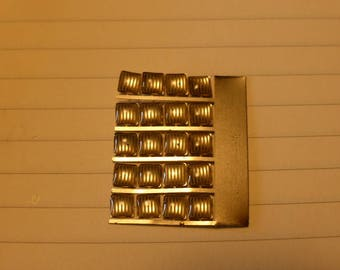 high quality photoetched+resin lights square clear mm 4.0 FLQ4 for model cars and other models
