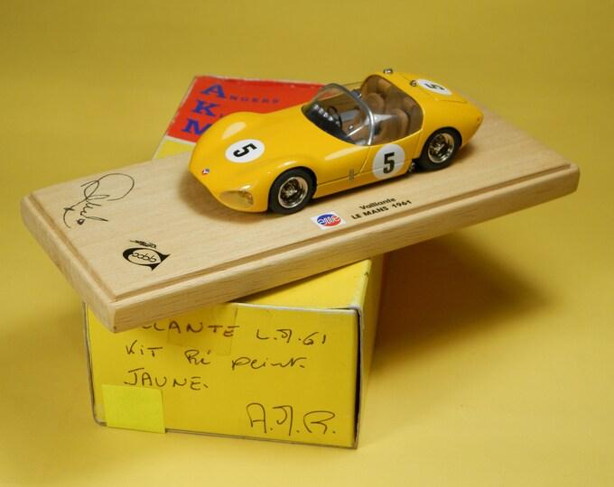 Vaillante Le Mans 1961 Ecurie Belge AMR - Angers built by Remember Models Studio 1:43