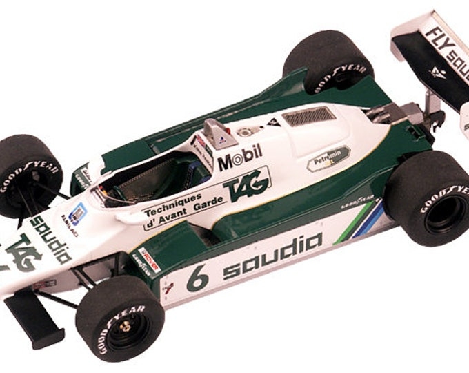 Williams Ford Cosworth FW08 F.1 Swiss GP 1982 Rosberg or Daly TAMEO Kits TMK302 1:43