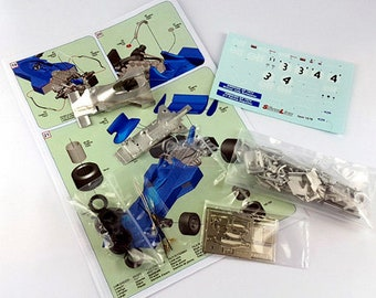 Tyrrell Ford Cosworth 007 Formula 1 Swedish GP 1974 Scheckter or Depailler TAMEO Kits SLK103 1:43