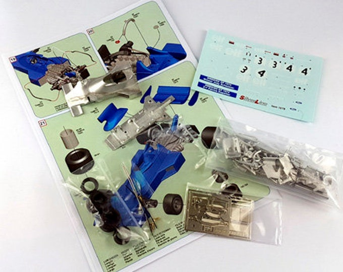 Tyrrell Ford Cosworth 007 Formula 1 Swedish GP 1974 Scheckter or Depailler TAMEO Kits SLK103 1:43