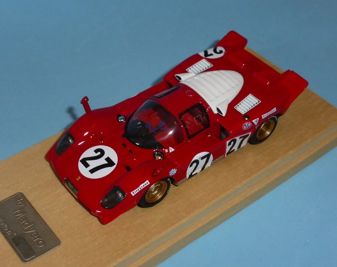 Ferrari 512S Daytona 24 hours 1970 #27 Ickx/Schetty Madyero by Remember 1:43 Factory built (special edition)
