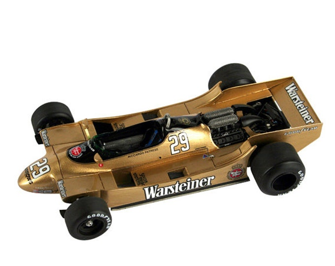 Arrows Cosworth A2 Formula 1 French GP 1979 Mass or Patrese TAMEO Kits SLK072 1:43