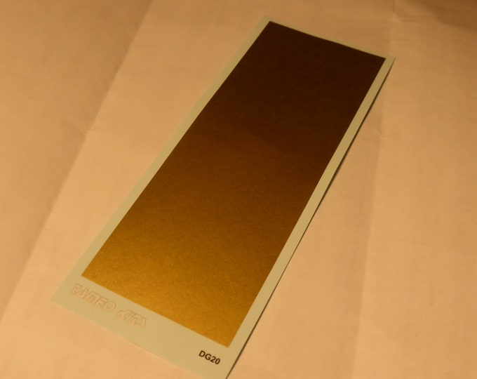 gold decal sheet mm 120x45.4 Tameo DG20