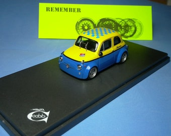 Fiat Giannini 650NP Group 2 Corsa 1972 yellow/blue Remember 1:43 - Factory built