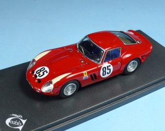 Ferrari 250 GTO 3987GT Nassau Tourist Trophy 1962 #85 Roger Penske REMEMBER Models 1:43 - Factory built