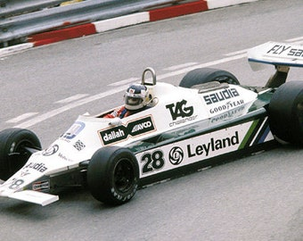 Williams - Ford Cosworth FW07B Monaco GP 1980 Jones or Reutemann TAMEO Kits SLK022 1:43