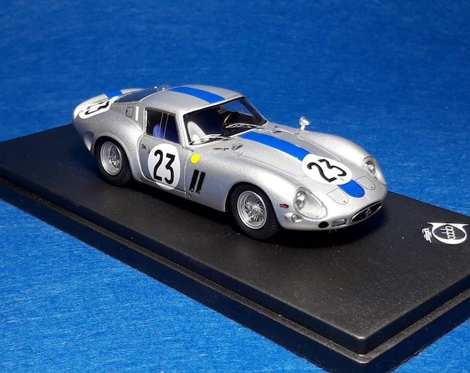 Ferrari 250 GTO 3769GT Le Mans 1962 #23 Tavano/Simon REMEMBER Models 1:43 - Factory built