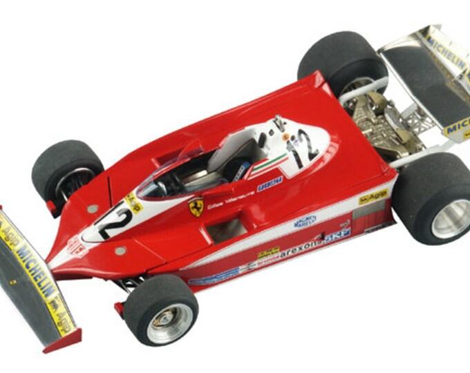 Ferrari 312 T3 F.1 Canadian GP 1978 Villeneuve or Reutemann TAMEO Kits TMK335 1:43