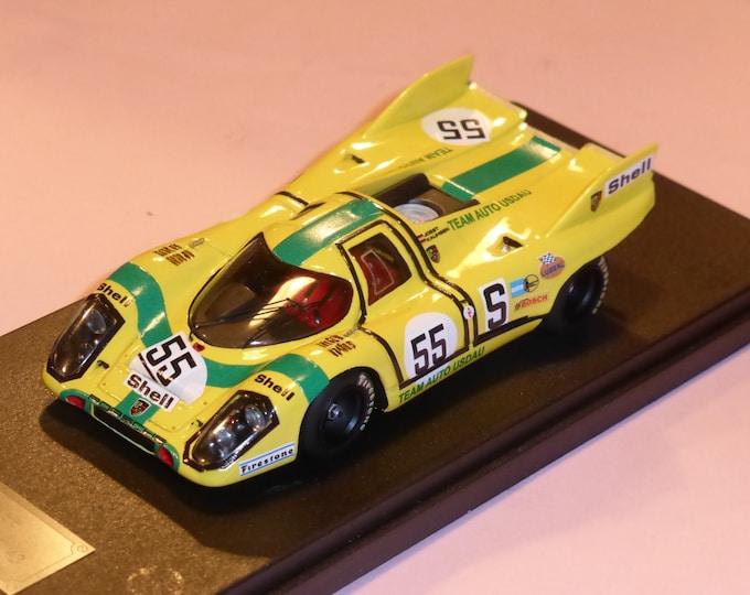 Porsche 917K Team Auto Usdau 1000km Nurburgring 1971 #55 Joest/Kauhsen Fast by Ciemme43 1:43 factory built