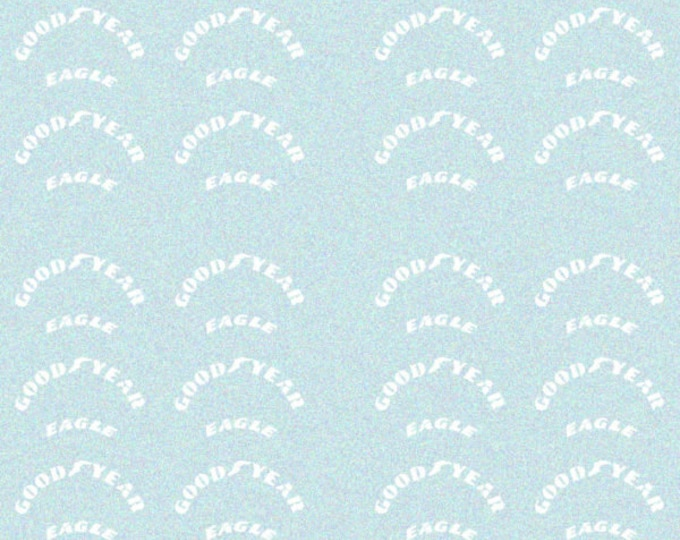 decals with G ood Y ear markings for F.1 cars of the 80s and 90s and so on 1:43 Tameo DG03