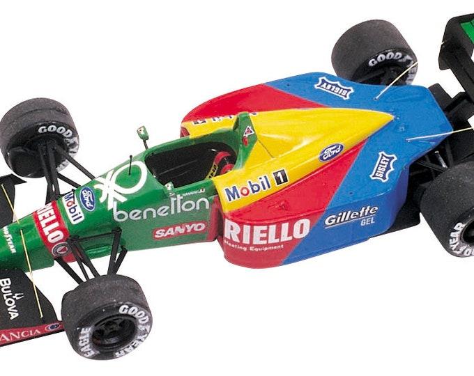 Benetton Ford B189 F.1 British GP 1989 Emanuele Pirro or Alessandro Nannini Tameo Kits TMK092 1:43