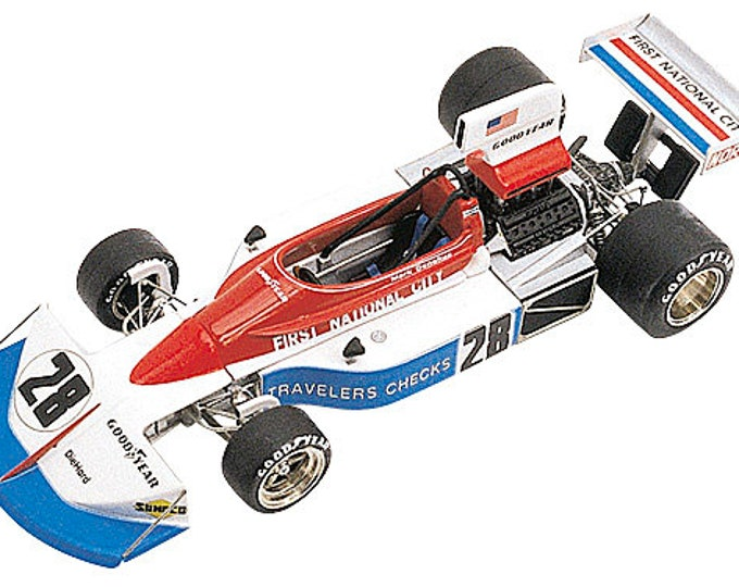 March Penske Ford Cosworth 751 F.1 German GP 1975 Donohue TAMEO Kits TMK234 1:43