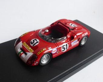 Fiat Abarth 1000SP Le Mans 1969 #51 Zanetti/Locatelli REMEMBER Models 1:43 - Factory built