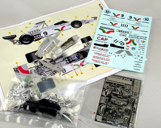 Brabham Cosworth BT42 German GP 1973 Wilson Fittipaldi or Rolf Stommelen TAMEO Kits SLK087 1:43
