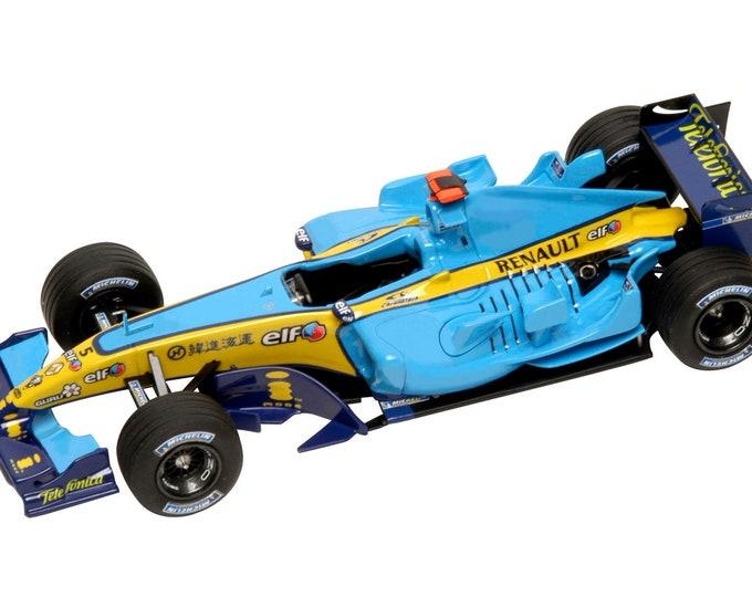 Renault R25 Formula 1 China 2005 Alonso or Fisichella TAMEO Kits SLK023 1:43