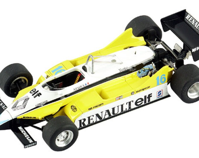 Renault RE30B Formula 1 Italian GP 1982 Prost or Arnoux TAMEO Kits TMK306 1:43