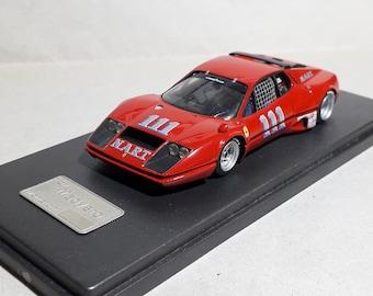 Ferrari 365 GT/BB Imsa NART 100 Miles Lime Rock 1975 #111 Milt Minter X - Amr built by Madyero Studio 1:43