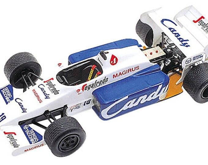 Toleman Hart TG184 F.1 Monaco Grand Prix 1984 Senna or Cecotto TAMEO Kits TMK227 1:43