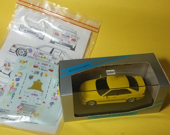 high quality 1:43 decals BMW 318is/4 ADAC Cup 1994 Team Schneider Engstler (only decals or option including Minichamps base)