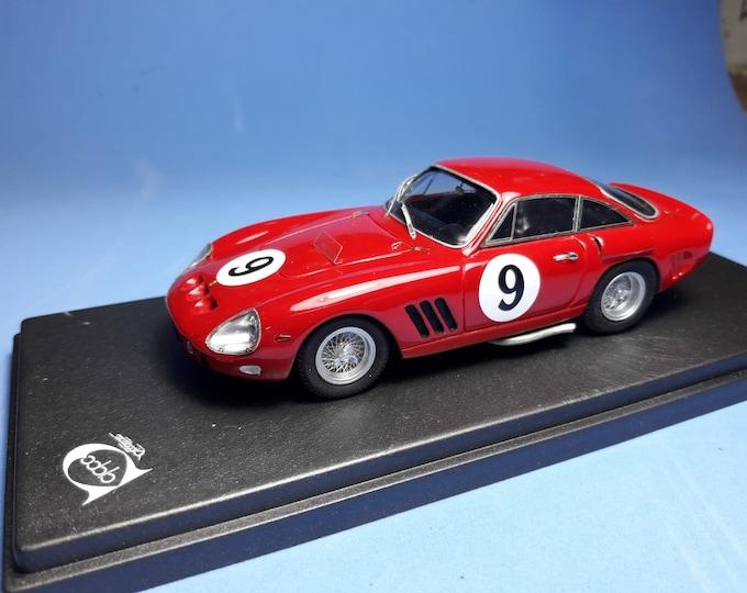 Ferrari 330 LMB 4381SA Le Mans 1963 #9 Noblet/Guichet REMEMBER Models 1:43 - Factory built