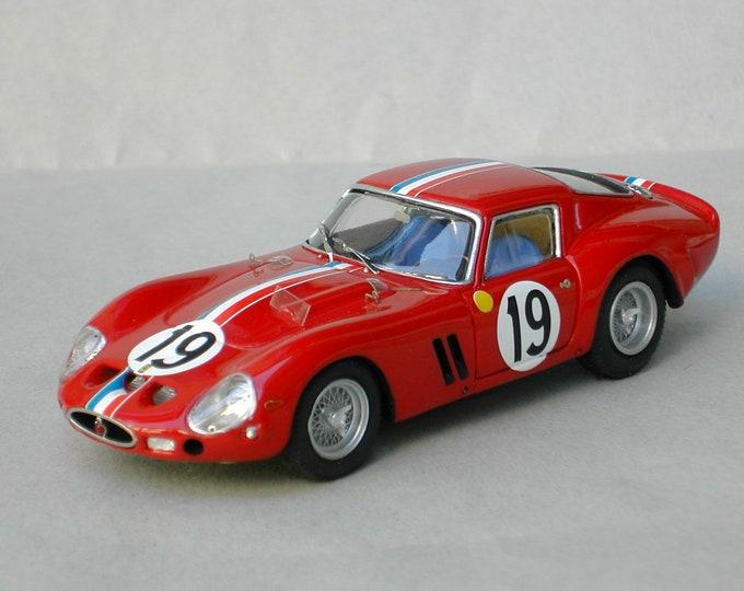 Ferrari 250 GTO 3705GT Le Mans 1962 #19 Noblet/Guichet Remember Models kit 1:43