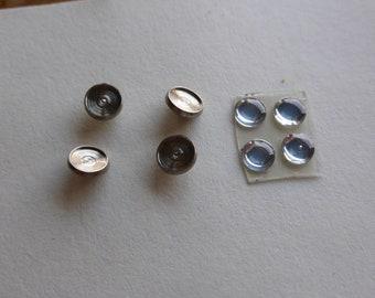 high quality round turned and optic headlights mm 4.5/5.5 Carrara Models F13 1:43