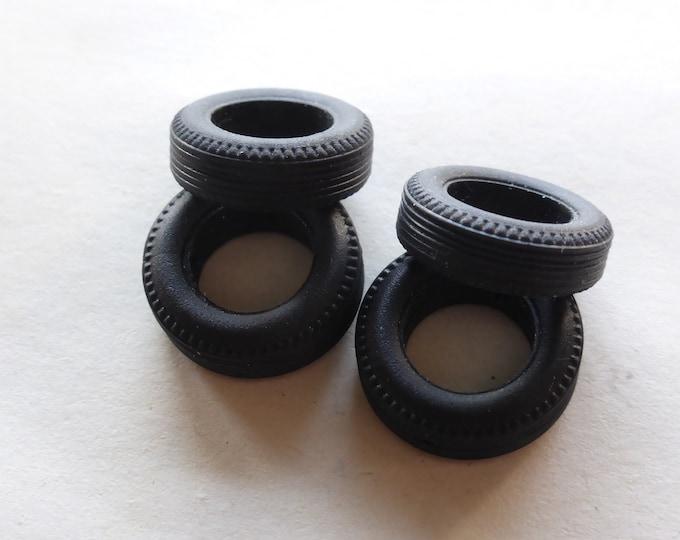 Set of high quality tires for Ferrari 250 GTO64 etc 1:43 Remember Models (see sizes in description) 43REM02