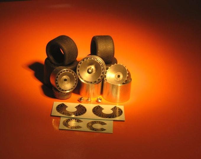 high definition wheel set for Porsche 935, 935K3, 934-5 etc. Remember W12 1:43