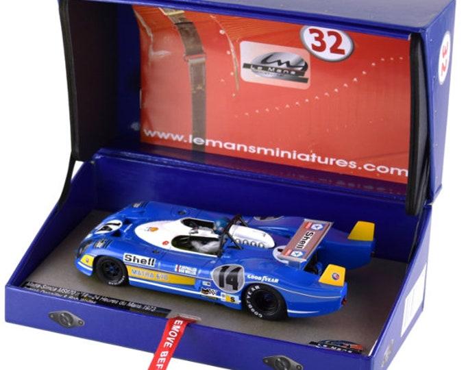 Matra MS670 Le Mans 1973 #14 Depailler/Wollek GTS Série Le Mans Miniatures slot car 1:32 1320078M