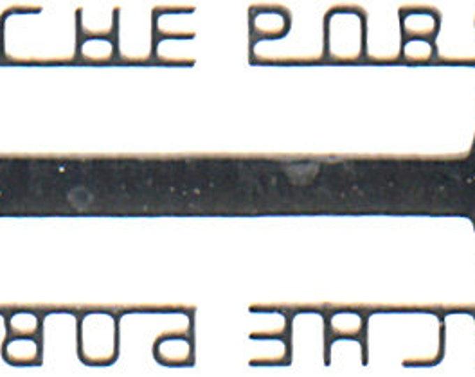 photo etched 1:43 Porsche scripts (12 pieces) Tameo FT24