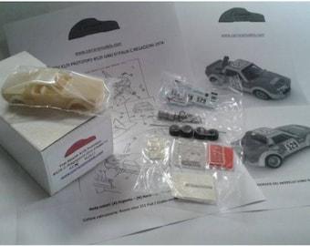 Fiat Abarth X1/9 Prototipo Giro d'Italia 1974 Clay Regazzoni #529 Carrara Models kit 1:43