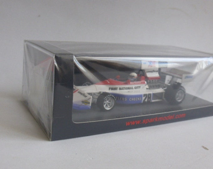 March Ford 751 F.1 British GP 1975 #28 Mark Donohue Spark S5375 still sealed 1:43 SHIPPING OFFERED