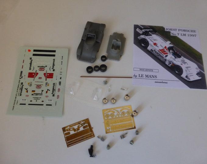 Joest TWR Porsche WSC Le Mans 1997 winner #7 Le Mans Miniatures kit 1:87 187072