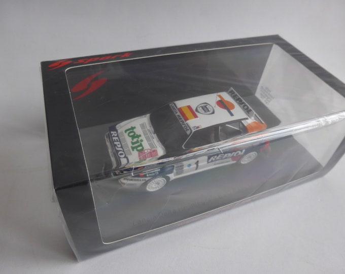 Lancia Delta HF Integrale Evo Repsol Monte Carlo 1993 #1 Sainz/Moya Spark S9024 still sealed 1:43 SHIPPING OFFERED