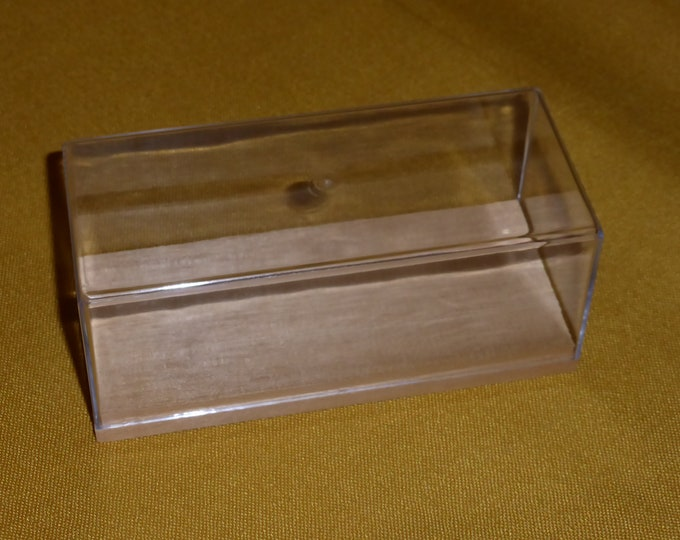 plexiglass and wooden showcase for 1:43 models Remember (with cardoard box option)