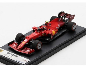 Ferrari SF21 F.1 GP Bahrein 2021 Carlos Sainz jr Looksmart LSF1036 still sealed 1:43 SHIPPING OFFERED