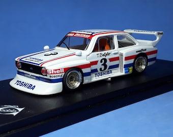 Ford Escort RS Gr5 Zakspeed Toshiba DRM Zolder Westfalen Pokal 1977 #3 Betzler REMEMBER Models 1:43 kit to assemble and paint