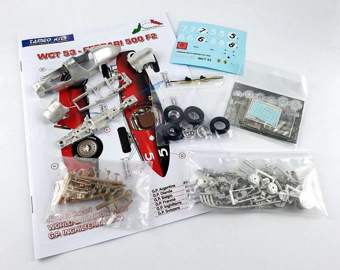 Ferrari 500 F2 British GP 1953 Farina/Hawthorn/Ascari/Villoresi TAMEO Kits WCT053 1:43