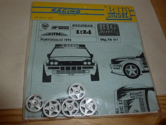 1//24 Subaru Impreza WRX BULGARI 1000miglia Rally /'97 Trans-Kit 1//24 Racing43 BIG
