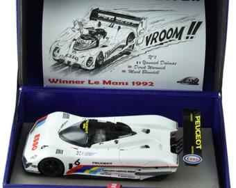 Peugeot 905 Ev1-Bis Le Mans 1992 car #5 or #6 (your choice) Le Mans Miniatures slot car 1:32 132075/5M or 132075/6M