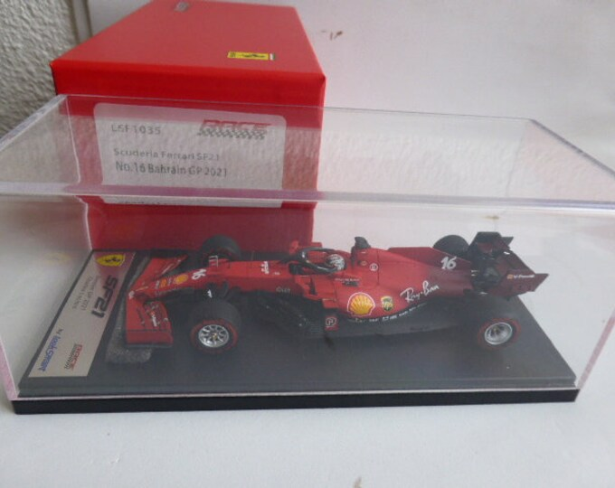 Ferrari SF21 F.1 GP Bahrein 2021 Charles Leclerc Looksmart LSF1035 still sealed 1:43 SHIPPING OFFERED
