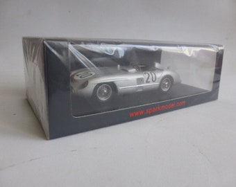 """Mercedes Benz 300 SLR Le Mans 1955 #20 """"P.Levegh""""/Fitch Spark S4734 still sealed 1:43 SHIPPING OFFERED"""
