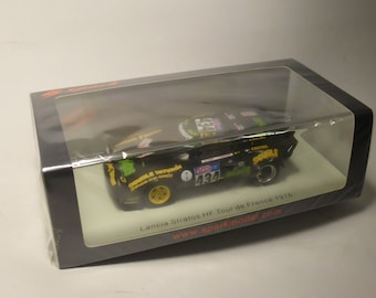 Lancia Stratos Tour de France Auto 1976 #434 Saby/Conconi Spark S9088 still sealed 1:43 SHIPPING OFFERED