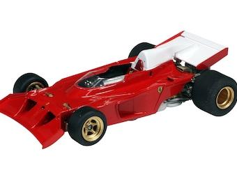 Ferrari 312 B3 Formula 1 Spazzaneve Practices August 1973 TAMEO Kits TMK387 1:43