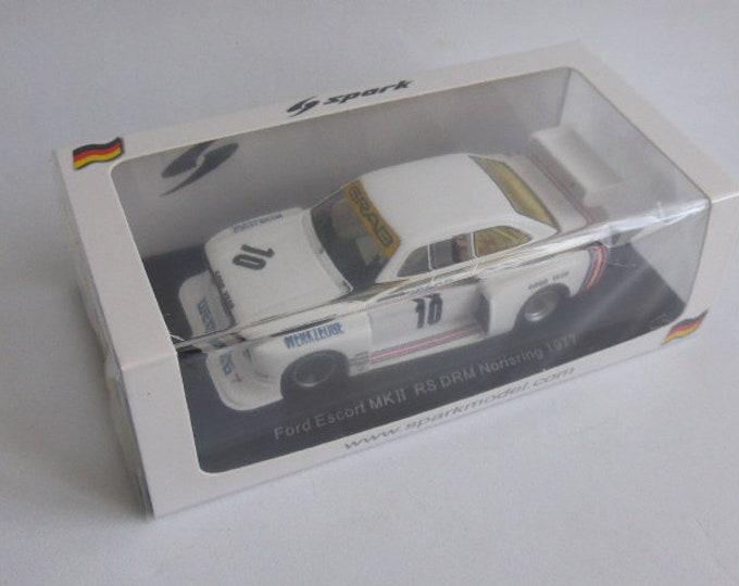 Ford Escort MkII RS Weisberg-Grab Drm Norisring 1977 Toine Hezemans SG509 still sealed 1:43 SHIPPING OFFERED