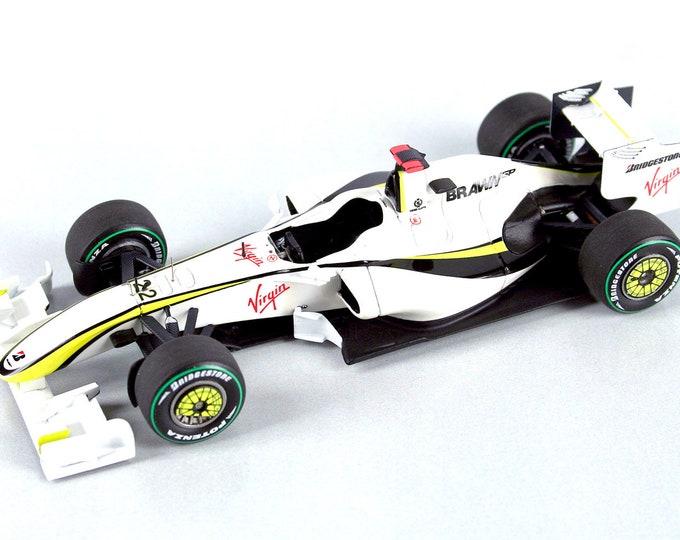 Brawn GP BGP001 Formula 1 Australian GP 2009 Button or Barrichello TAMEO Kits SLK068 1:43