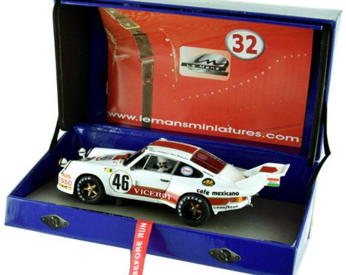Porsche 911 Carrera RSR Viceroy Le Mans 1974 Rebaque/Rojas GTS Série Le Mans Miniatures slot car 1:32 1320084M