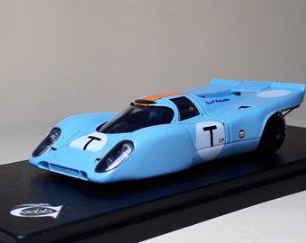 """Porsche 917K Gulf team Wyer """"six wheeler"""" Daytona 24h 1970 tests REMEMBER Models 1:43 factory built"""